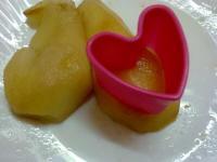 Tallem algunes de les peres en forma de cor