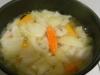 Fem bullir les verdures amb el vichy
