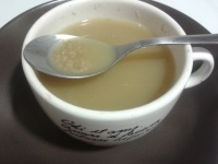Sopa de farigola i all