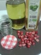 Preparem la vinagreta de magrana