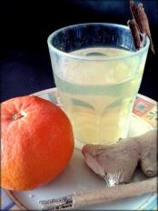 Infusió de mandarina amb canyella i gingebre