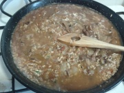 Barregem les verdures i l'arròsBarregem les verdures i l'arròs