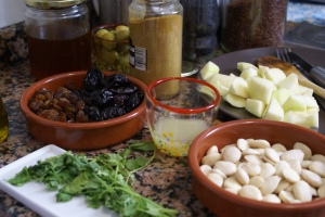 quecuinoavui_Tajine de xai_els ingredients