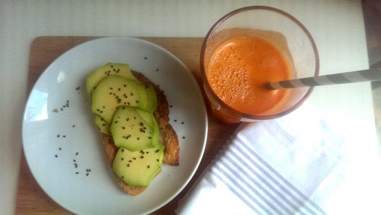 quecuinoavui liqaut de pastanaga amb taronja i gingebre