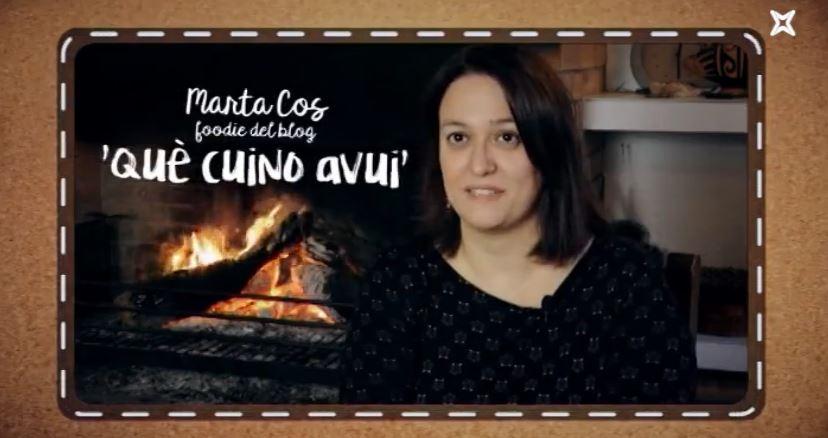 Enllaç a 1 Món.cat Entrevista a Què cuino avui. La Marta entre fogons